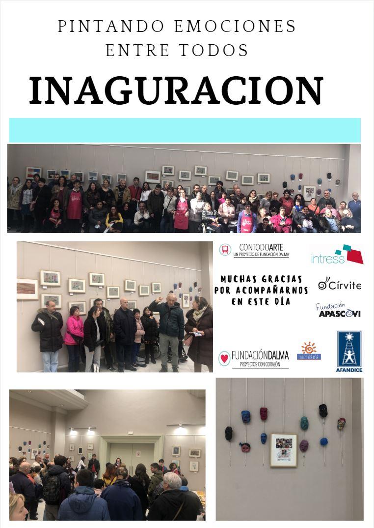 Inauguración exposición Contodoarte en CC.  Quinta del Berro